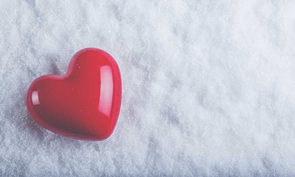 Giving gifts from the heart psychological counseling services ltd heart in the snow negle Choice Image