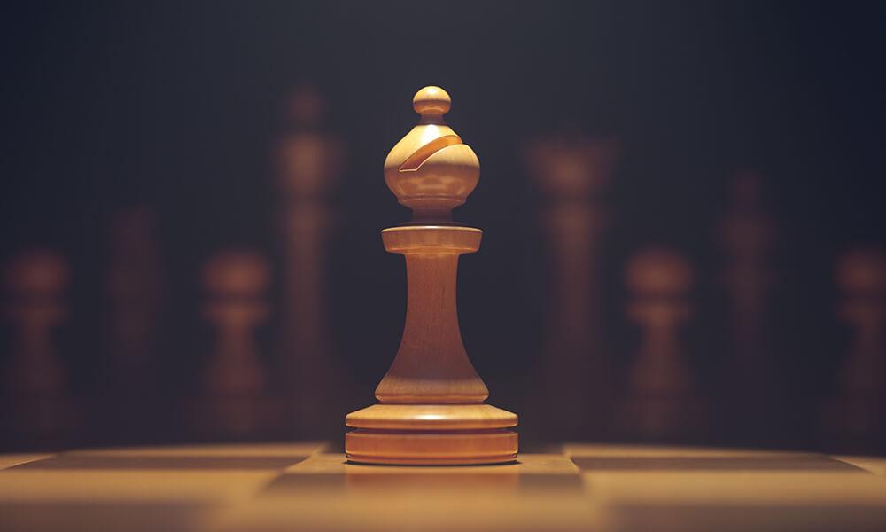 Rule Breakers chess piece